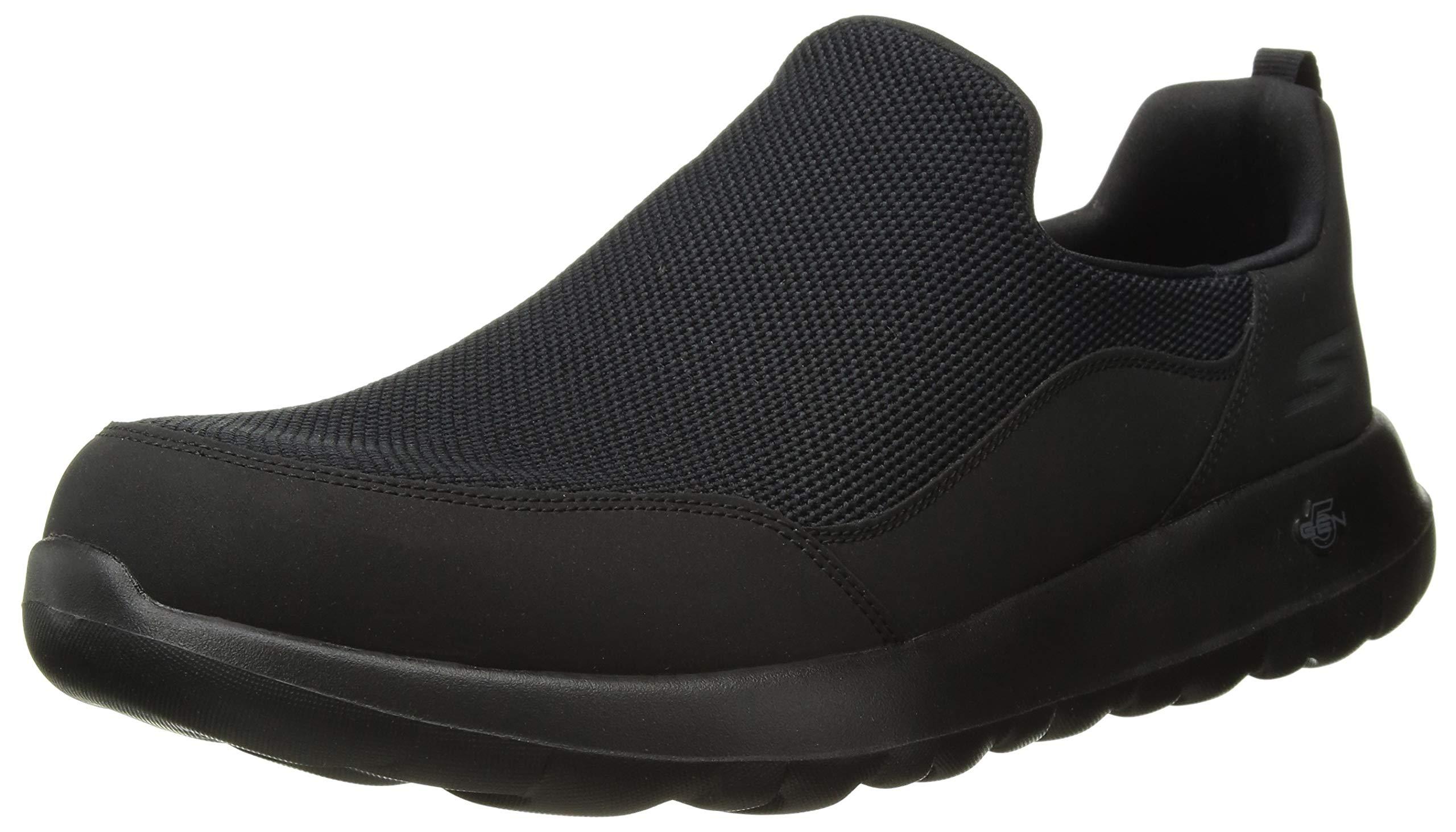 Skechers Men's Go Walk Max 54626 Extra Wide Sneaker, black