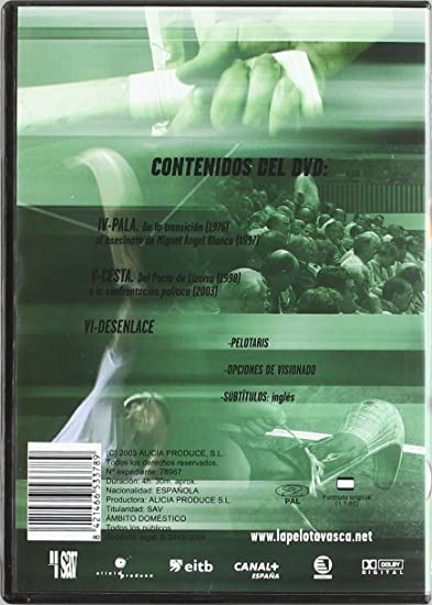 La pelota vasca - La piel contra la piedra Edición coleccionist ...