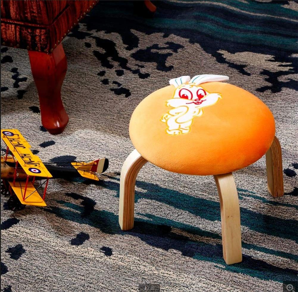 Ré 323212cm Tabouret pour Enfants, Tabouret créatif Slacker pour Enfants (Couleur   E, Taille   32  32  12cm)