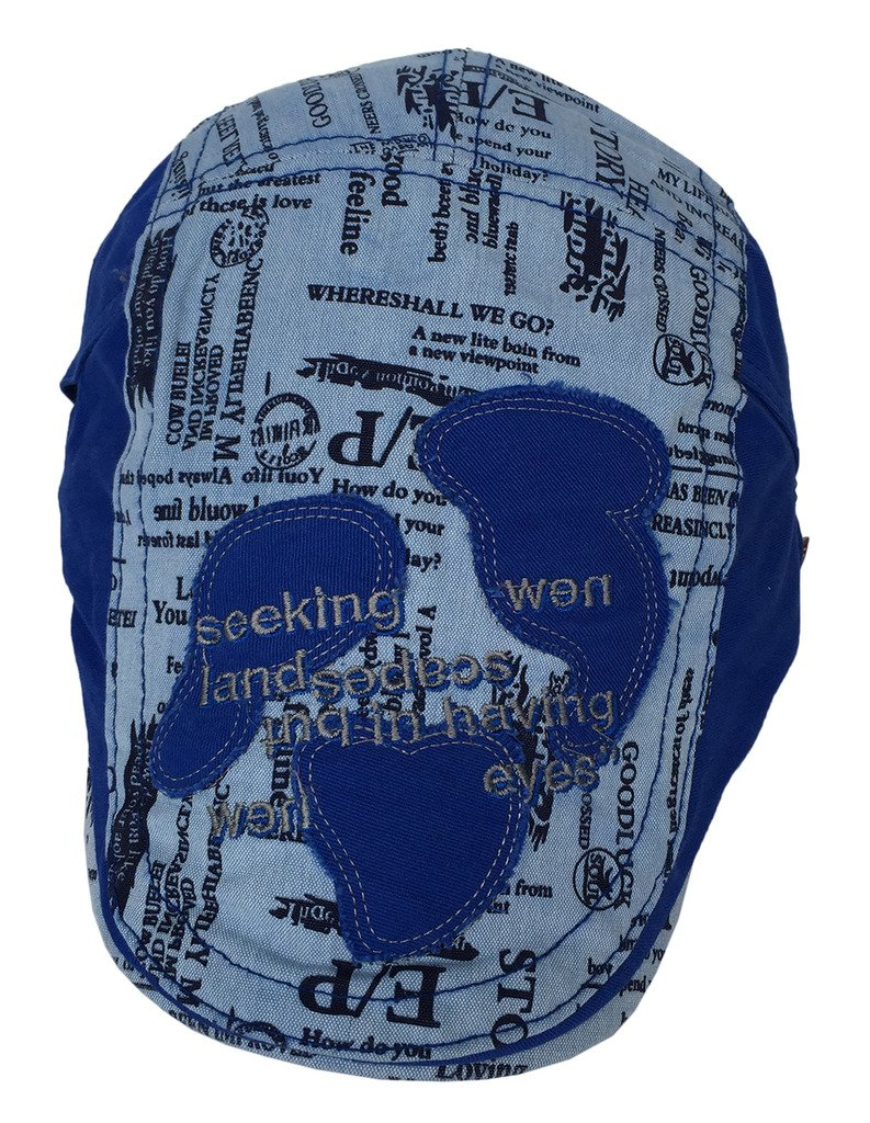 Toyobuy Unisex Gatsby Cotton Sun Summer Peaked Newsboy Cap Blue by Toyobuy