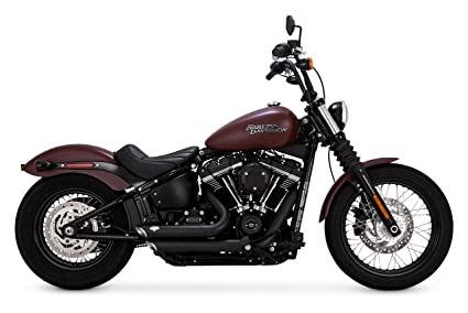 Amazon com: Vance & Hines Black Shortshots Staggered for