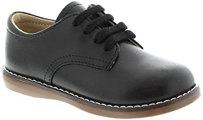 dce2fb22fbd59 FOOTMATES Boy's Willy Laceup Oxford Black - 8802/13.5 Little Kid M/W