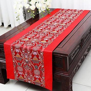 KKY ENTER Red Tischläufer Einfache Moderne Flache Winkel Tisch Tischtuch  Couchtisch Tuch (nur Verkauf