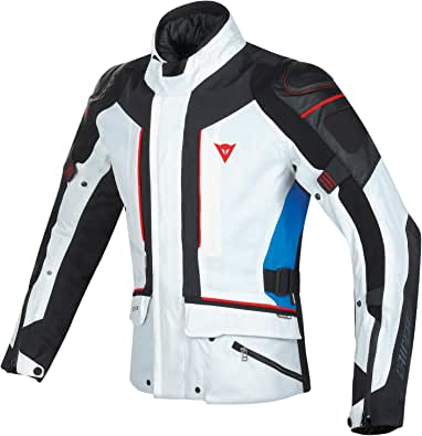 Dainese D-Cyclone Gore-Tex Jacket (58) (Glacier Grey/Black/Strong Blue)