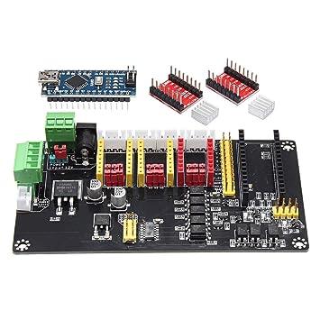 Sjidasj9 Placa 32 bit para Impresora 3D 3 Ejes USB Arduino CNC ...