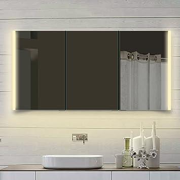 rmi-onlineshop Comète Armoire Miroir Salle de Bain éclairage LED ...