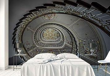 Papel Tapiz Fotomural - Art Nouveau Escalera De Caracol Museo - Tema Arquitectura - L - 254cm x 184cm (an.