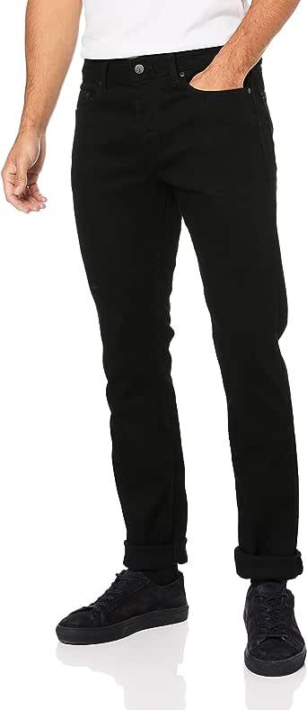 CALVIN KLEIN Men's Slim Fit Jeans, Black, 31W x 32L