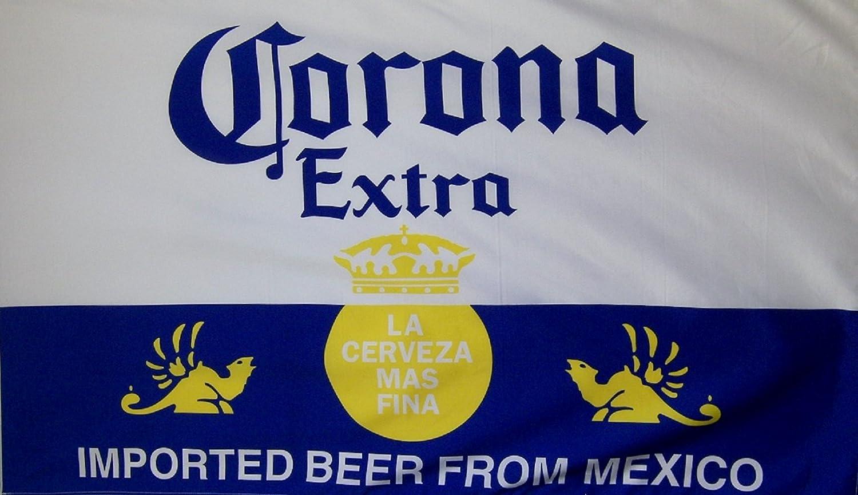 Nuge Corona Extra La Cerveza Mas Fina Flag 3 X 5 Indoor Outdoor Premium Banner