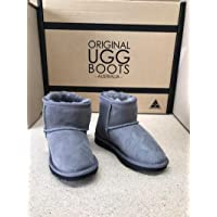 GREY ULTRA SHORT KIDS UGG BOOTS