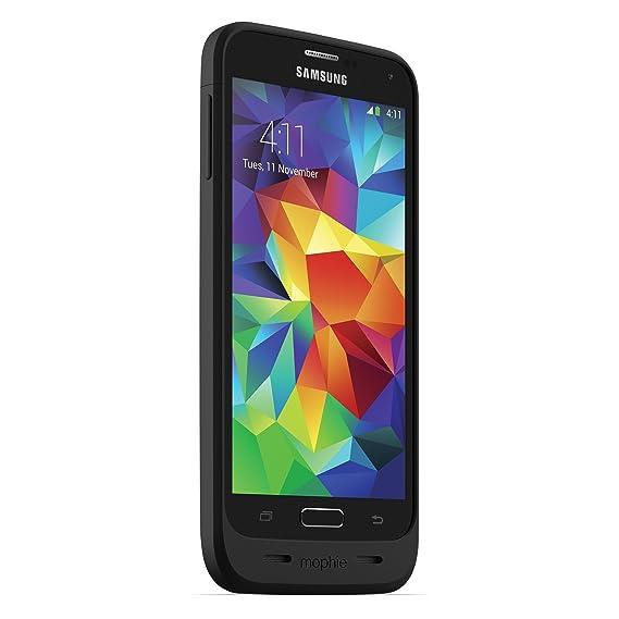 mophie Juice Pack for Samsung Galaxy S5 (3,000mAh) - Black (Renewed)