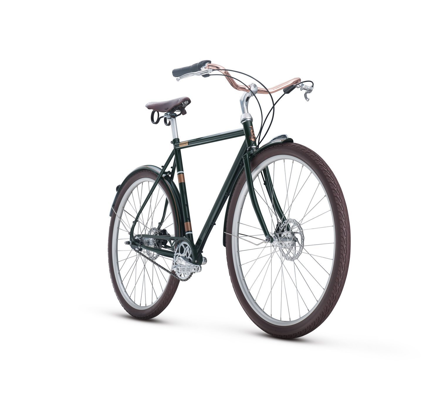 Raleigh Bikes Tourist Classic City Bike Green 52cm/Small [並行輸入品]   B075K12VD9