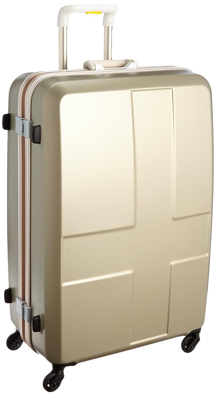 [イノベーター] | ハードキャリー フレーム | | TSAカードロック | 消音キャスター | 便利アイテム付き | 保証付 90L 76cm 4.8kg INV68 B01AU4QF6S シャンパンゴールド シャンパンゴールド