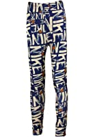 LY Womens Mulit Pattern Stretch Full Length Pants Leggings Tights With Design