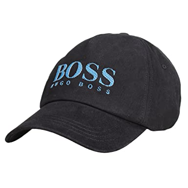 Hugo Boss Boys Black Logo Cap 3-6Y  Amazon.co.uk  Clothing a9ccc5f14790