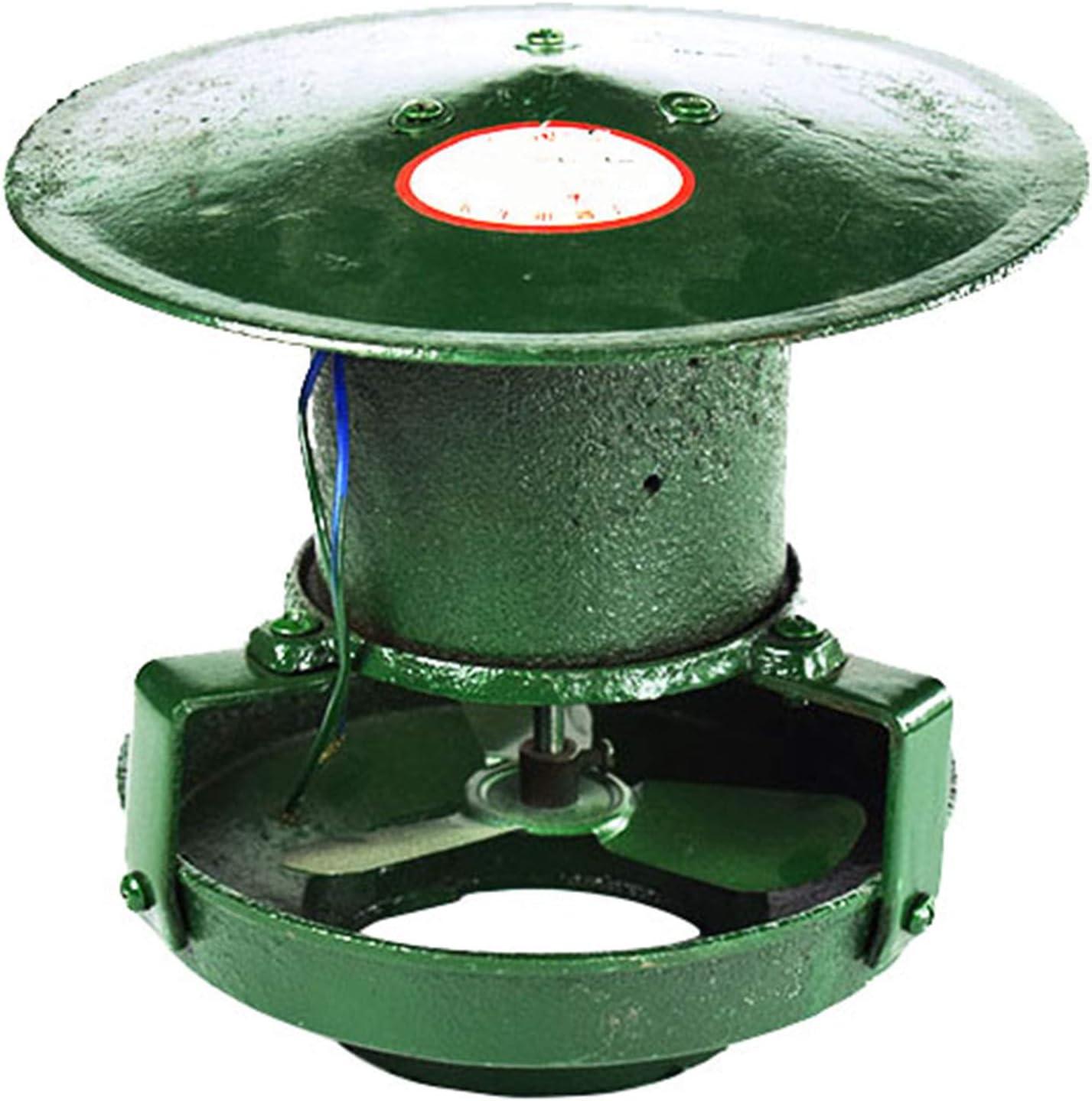 Extractor de aire al aire libre, 60W 220V Atractivos de la azotea de la azotea con chimenea Fans Chimenea Bombas extractor de humo, de chimenea Ventilador eléctrico de chimenea de escape, verde,Style2