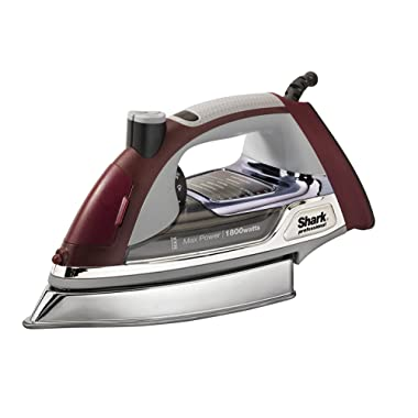 Shark Iron Ultimate Professional Select 1800W Steam For Clothes W/Smooth gliding Wrinkle Release W/Stainless Steel Soleplate GI510 (Renewed)