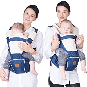 The Best Front Facing Baby Carrier: Bebamour Designer Sling and Baby Carrier