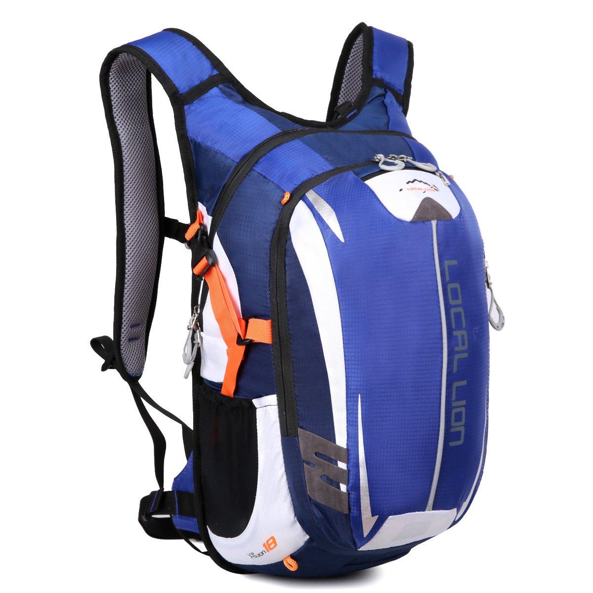 Local Lion Fahrradrucksack Trinkrucksack Reiserucksack Sportrucksack Tagesrucksack Alltags Daypacks Backpack Outdoor Ultraleicht Unisex 18L Blau…