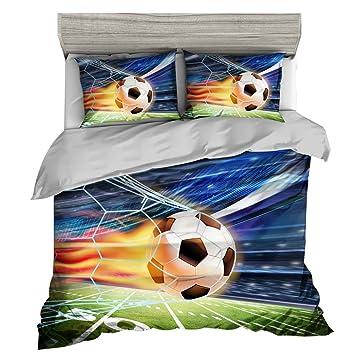 Andrui Bettwasche Set Fussball Sport Stil 3d Premium