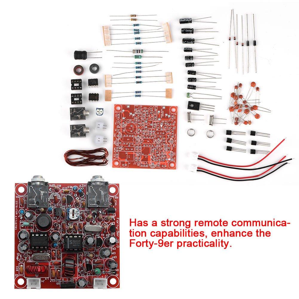 Zerone Ham Radio Qrp Kit Forty 9er 3w Cw Shortwave Am Bands Transmitter Electronics