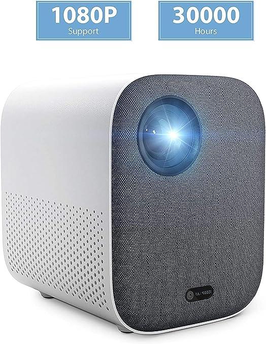 Xiaomi 1080P Full HD Mini DLP Projector AI Control Remoto de Voz 500ANSI 4K Video 2GB 8GB 2.4G / 5G WiFi 3D BT Proyector LED portátil para Cine en casa: Amazon.es: Electrónica