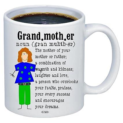 Amazon com | Grandma Dictionary Definition Coffee Mug, Best