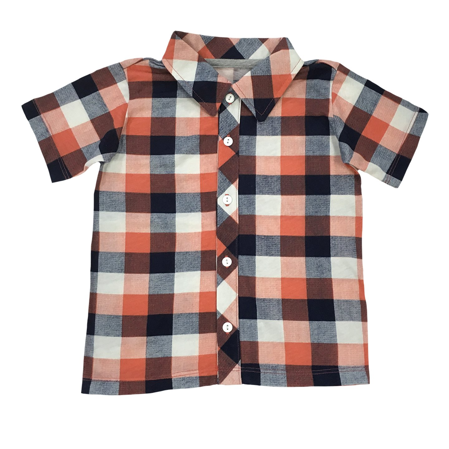 Hibou Clothing Little Boys Button Down Party Shirt