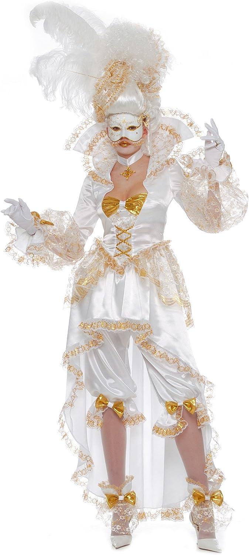 César - Disfraz de veneciana para mujer (adulto), talla 36/38 cm ...
