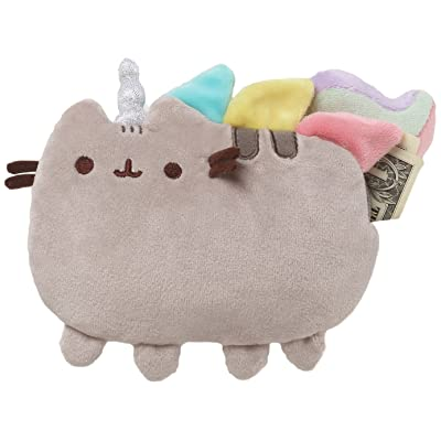 "GUND Pusheenicorn Pusheen Cat Plush Stuffed Unicorn Coin Purse, Gray, 7"": Toys & Games"