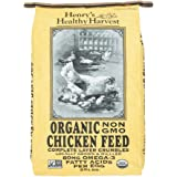 Henry's Healthy Harvest Organic Non-GMO Chicken Feed - Complete Layer Crumbles