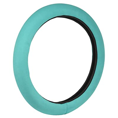 Bell Automotive 22-1-97187-8 Teal Stress Reliever Hyper-Flex Core Steering Wheel Cover: Automotive