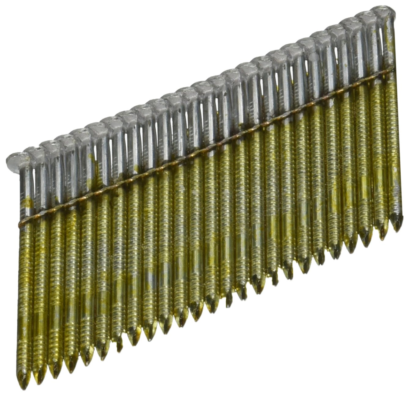 BOSTITCH S8DRGAL-FH 28 Degree 2-3/8-Inch by .120-Inch Wire Weld Galvanized Ringshank Framing Nails (2,000 per Box) by BOSTITCH (Image #1)