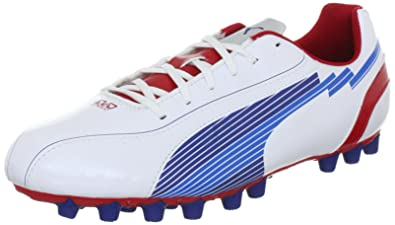 Puma Men s evoSPEED 5 AG Sports Shoes - Football 102587 White-Limoges- 6.5  UK a86afdacce49c