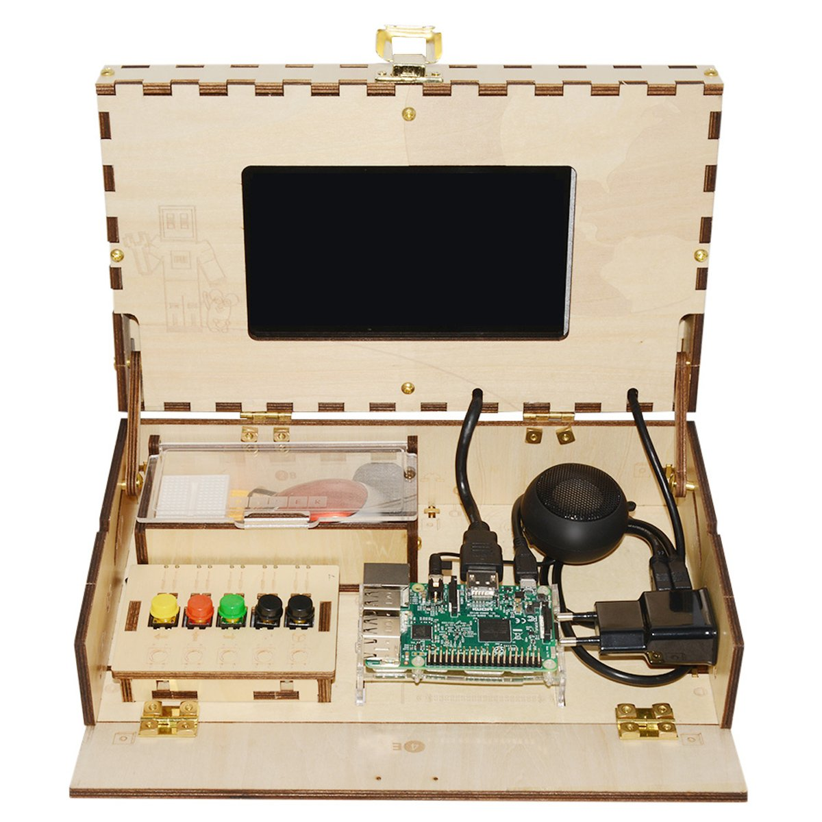 DIY Computer Kit for Kids STEM and Coding Training Toy