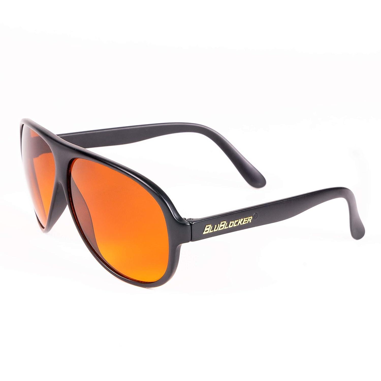 12abd77d38 Amazon.com  Black Original Aviator BluBlocker Sunglasses – 2701K  Clothing