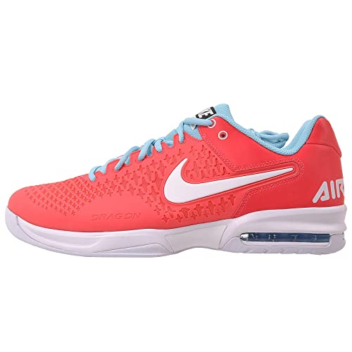 sale retailer bfabc 13edc Nike Air Max Breathe Cage Men  s Tennis Shoes, Red Blue,