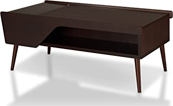 Amazon Com Iohomes Earnest Mid Century Modern Coffee Table With