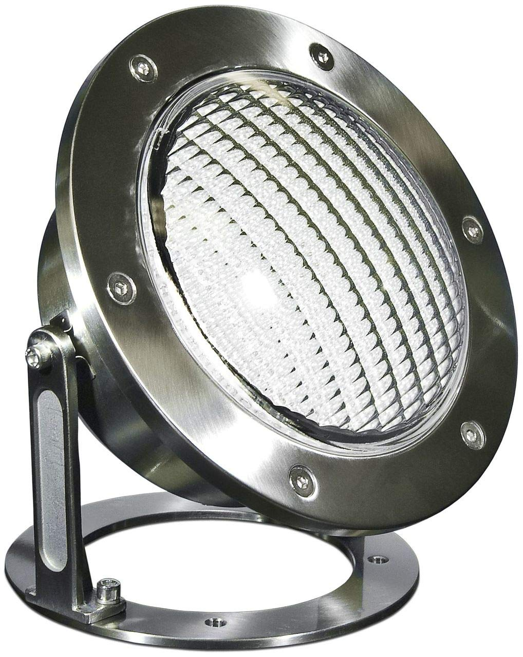 DABMAR LIGHTING LV302-SS316 316 Marine Grade Stainless Steel Pond/Fountain Underwater Light, 316 Marine Grade Stainless Steel