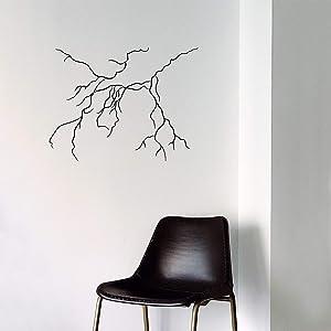 Vinyl Art Wall Decal - Lightning Bolt - 23