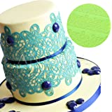 Anyana Wedding Cake Fondant Cake Decorating Tools Large Bouquet Flower Lace Mat stencil border Mold Silicone chocolate Mould Cooking baking Bakeware