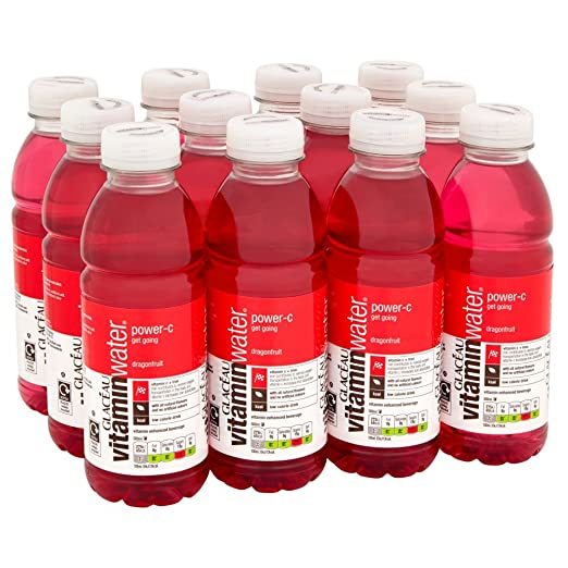 Glacéau Vitaminwater Power C Dragonfruit 500 Ml (Pack Of 12) by Glaceau