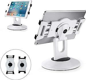 """AboveTEK Retail Kiosk iPad Stand 6-13.5"""" and 2 Keys Durable Steel iPad Locking Kit"""