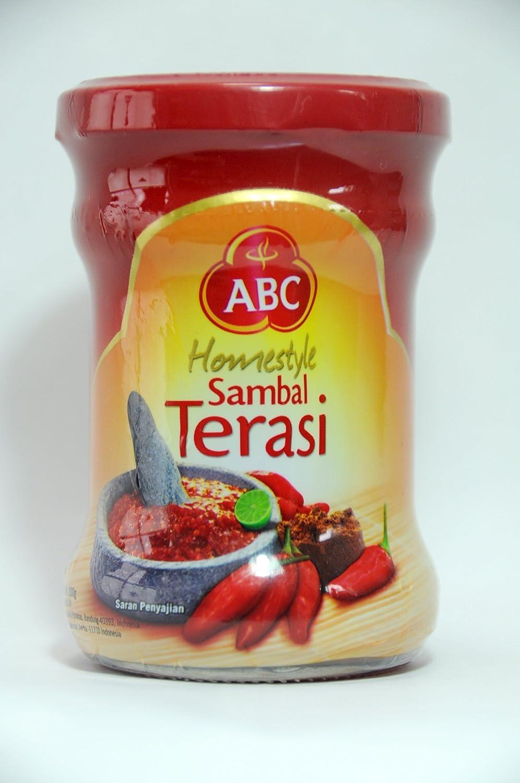Abc Sambal Terasi Prawn Chili Paste 190 Gram Grocery White Instant Coffee Bag 20 Sachet