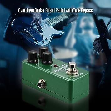 Festnight NUX NOD-2 TUBE MAN MK II - Pedal efecto de guitarra Overdrive Full Metal Shell True Bypass: Amazon.es: Instrumentos musicales