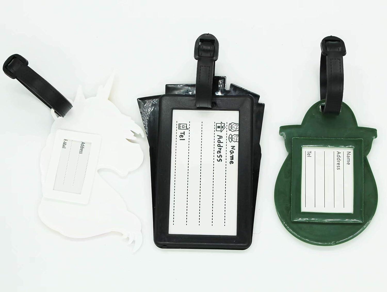 Amazon.com: ShineSnow - Etiquetas para equipaje de piña (3 ...