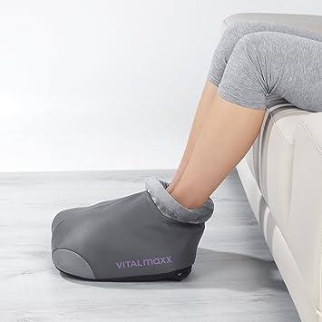Vitalmaxx Shiatsu Massagegerät Für Füße 12v Grau Amazonde