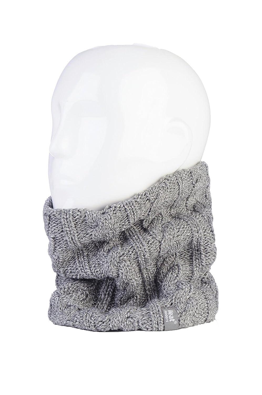 Womens Thermal Fleece Winter Neck Warmer in 7 colours Heat Holders