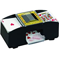 Two Deck Automatic Card Shuffler for Playing Cards Games