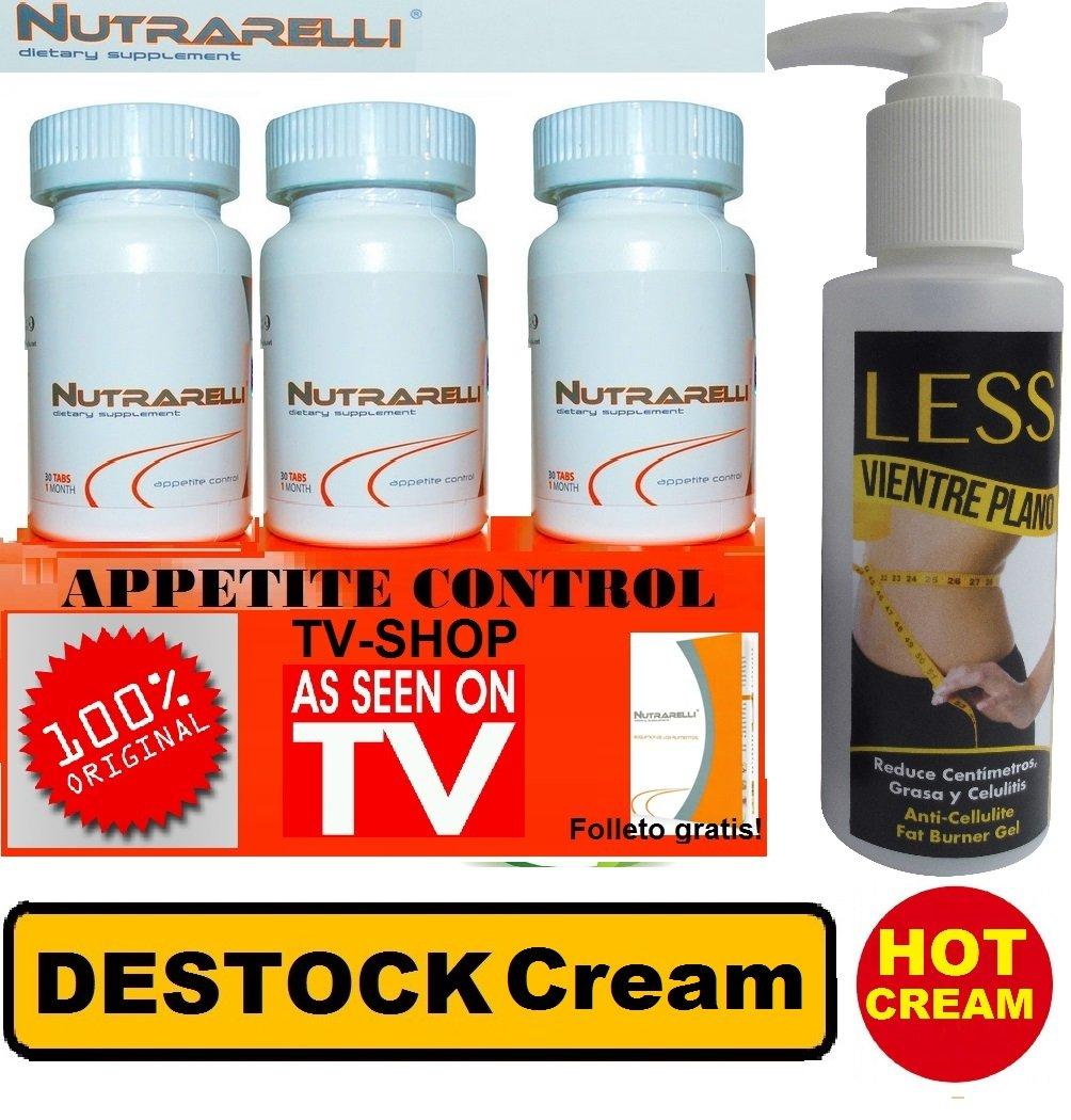 Nutrarelli 3 Bottles 1 Hot Cream Health Personal Care Cr Original